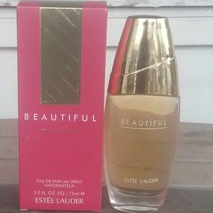 Brand New Estee Lauder Beautiful 2.5oz Never Open.